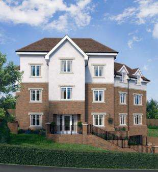 2 Bedrooms Flat for sale in Drapers Court, 32 Russell Hill, Purley, Greater London