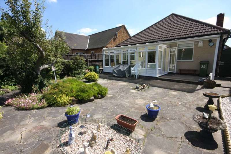 2 Bedrooms Detached Bungalow for sale in Triumph Road, Glenfield