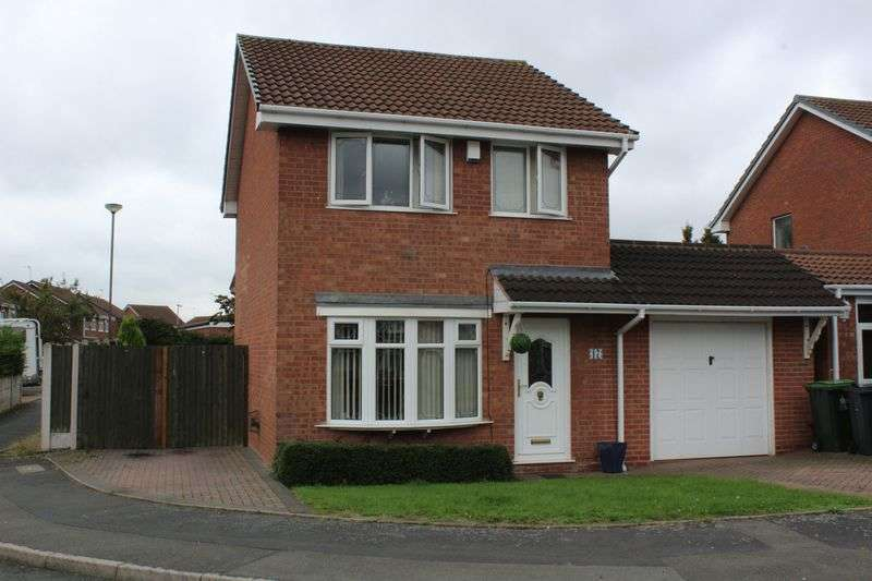 3 Bedrooms Detached House for sale in Dawn Drive, Tipton