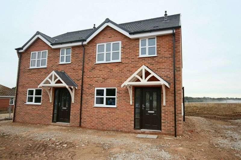 3 Bedrooms Semi Detached House for sale in Garden City, Tern Hill, Market Drayton