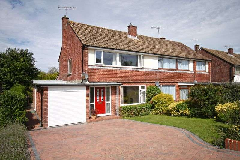 3 Bedrooms Semi Detached House for sale in Weatherbury Way, Dorchester, DT1