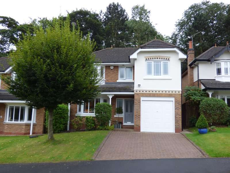 4 Bedrooms Detached House for sale in Bishopton Drive, Macclesfield, Cheshire, SK11