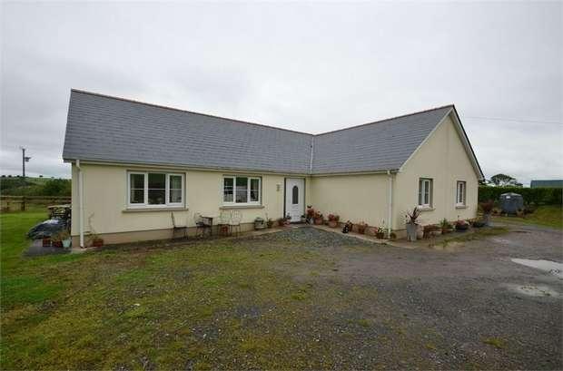 4 Bedrooms Detached House for sale in Upper Nash, Lamphey, Pembroke