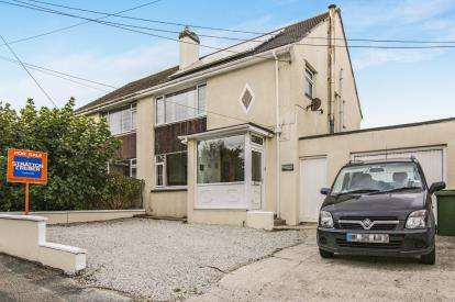3 Bedrooms Semi Detached House for sale in Trencreek, Newquay, Cornwall