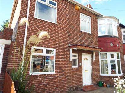 4 Bedrooms Semi Detached House for sale in Kingsway, Newcastle Upon Tyne, Tyne and Wear, NE4
