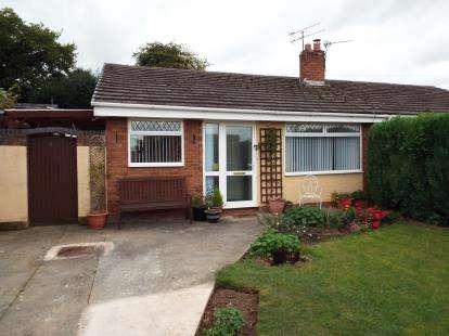 2 Bedrooms Bungalow for sale in Field Close, Flint, Flintshire, CH6