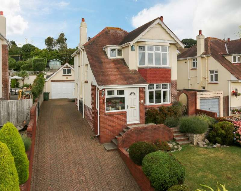 4 Bedrooms Detached House for sale in Aller Park Road, Newton Abbot