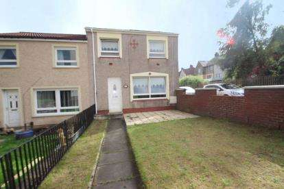 3 Bedrooms End Of Terrace House for sale in North Square, Gartsherrie, Coatbridge, North Lanarkshire.