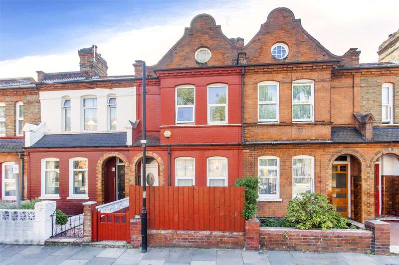 3 Bedrooms Terraced House for sale in Lymington Avenue, Wood Green, N22