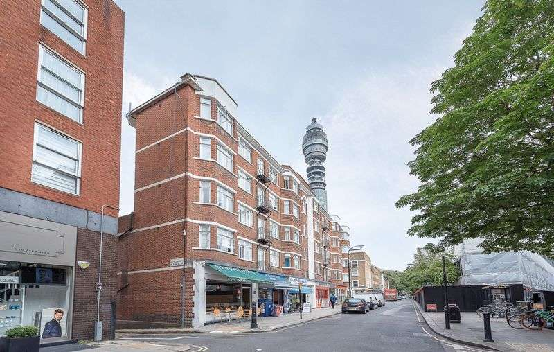 2 Bedrooms Flat for sale in Cleveland Street, London