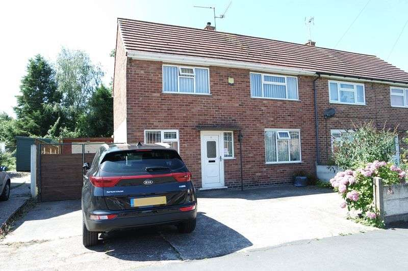3 Bedrooms Semi Detached House for sale in Abbey Road, Edwinstowe