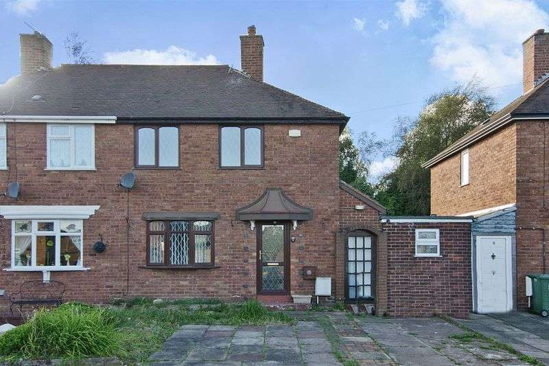 2 Bedrooms Semi Detached House for sale in Bath Road, Cannock