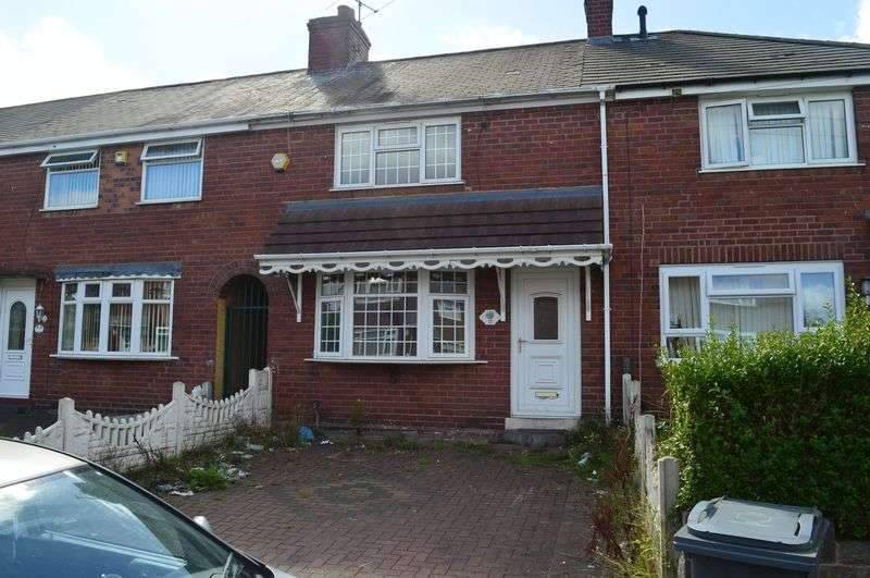 3 Bedrooms Terraced House for sale in Young Street, West Bromwich
