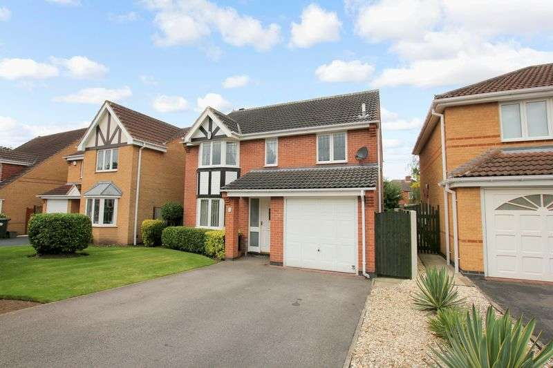 4 Bedrooms Detached House for sale in Poppyfields Way, Doncaster, South Yorkshire, DN3