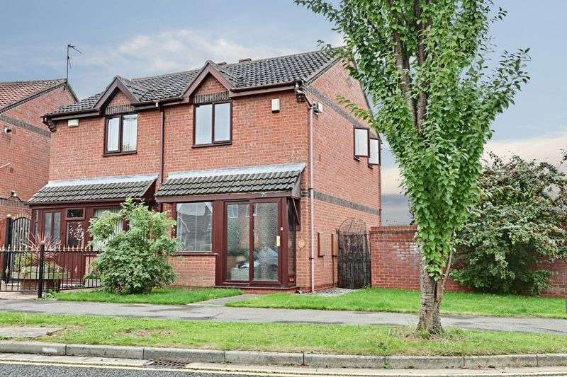2 Bedrooms Semi Detached House for sale in Kingsbury Way, Kingswood