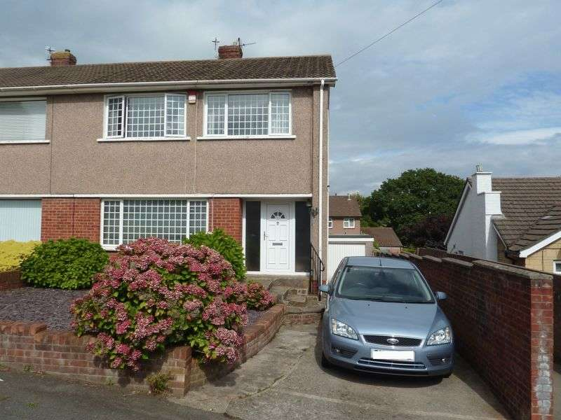 3 Bedrooms Semi Detached House for sale in Collard Crescent, Barry