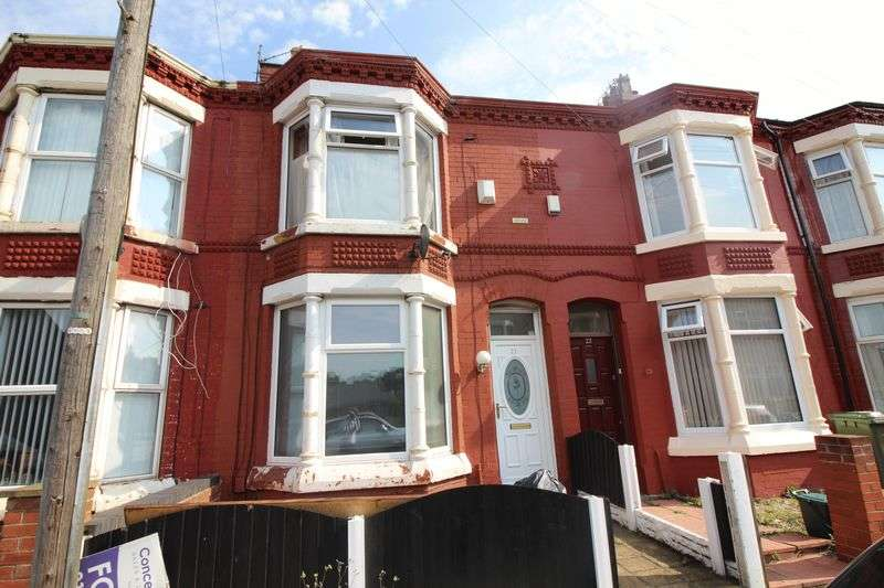 3 Bedrooms Terraced House for sale in Croxteth Avenue, Liverpool