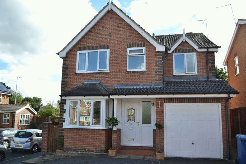 4 Bedrooms Detached House for sale in Larch Court, Gainsborough