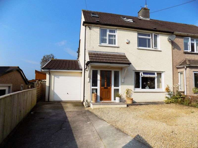 4 Bedrooms Semi Detached House for sale in Danygraig Drive, Talbot Green