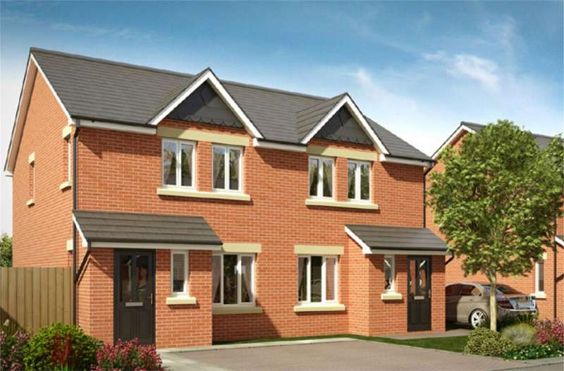 3 Bedrooms Semi Detached House for sale in Greenwood Mews, Horwich, Bolton, Lancashire