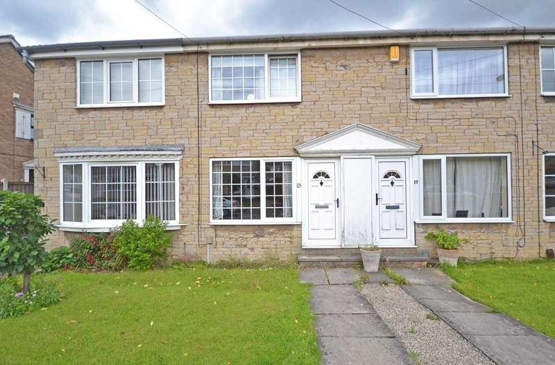 2 Bedrooms Terraced House for sale in Dunn Close, Wrenthorpe, Wakefield