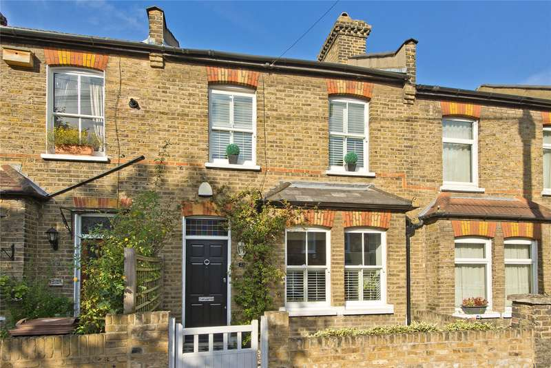 2 Bedrooms Terraced House for sale in Victory Road, Wimbledon, London, SW19