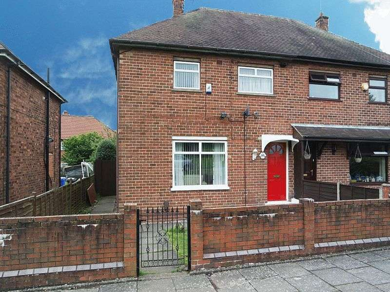 3 Bedrooms Semi Detached House for sale in Dividy Road, Bentilee, Stoke-On-Trent, ST2 0BX