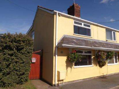 2 Bedrooms Semi Detached House for sale in Bryn Coch Cottages, Northop Road, Flint, Flintshire, CH6