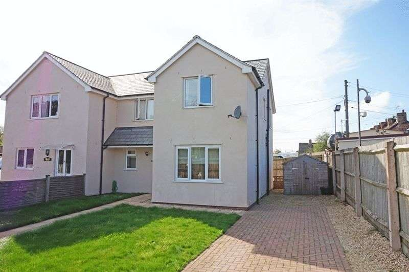 3 Bedrooms Semi Detached House for sale in Hillcommon, Taunton
