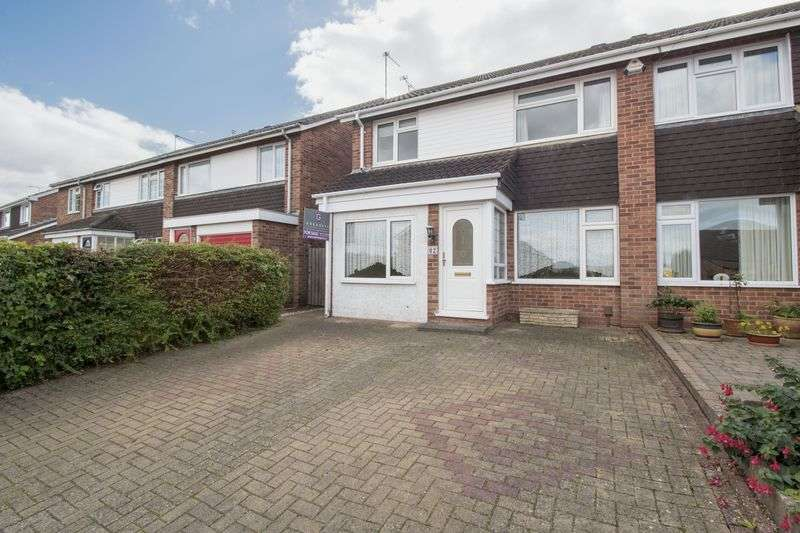3 Bedrooms Semi Detached House for sale in Hurn Lane, Keynsham