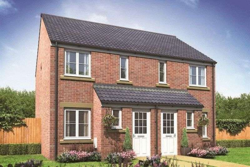 2 Bedrooms Semi Detached House for sale in The Alnwick - Kingsbury Meadows, Wakefield