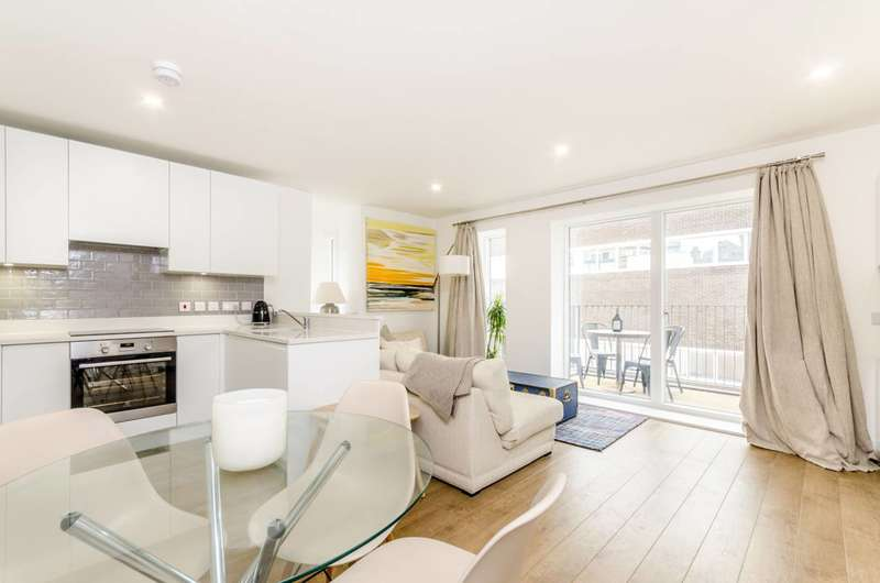 1 Bedroom Flat for sale in Lamb Walk, Southwark, SE1