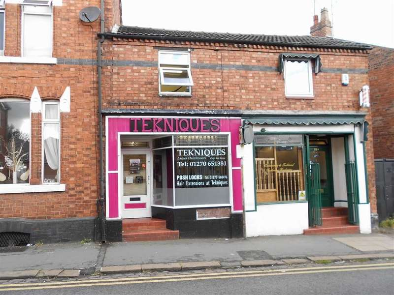 Shop Commercial for sale in Stewart Street, Crewe, Cheshire