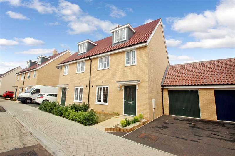 3 Bedrooms Town House for sale in Foundation Way, Colchester