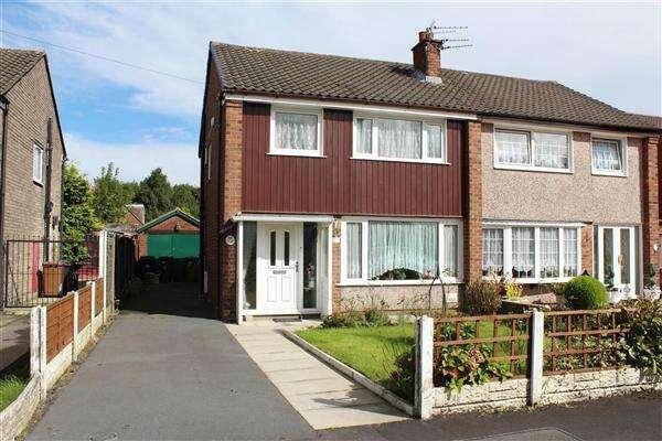 3 Bedrooms Semi Detached House for sale in Coniston Drive, Walton Le Dale, Preston