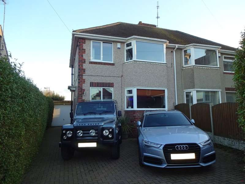 3 Bedrooms Semi Detached House for sale in Brushfield Grove, Frecheville
