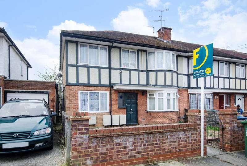 1 Bedroom Maisonette Flat for sale in Sandringham Crescent, Rayners Lane, HA2