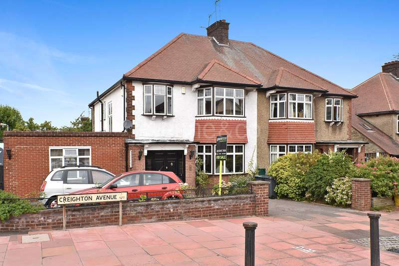 4 Bedrooms Semi Detached House for sale in Creighton Avenue, Muswell Hill, London, N10