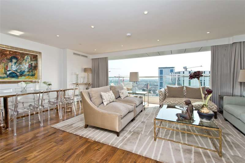 3 Bedrooms Flat for sale in Beacon Tower, 1 Spectrum Way, London, SW18