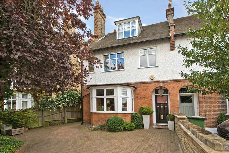 5 Bedrooms Semi Detached House for sale in Courthope Road, Wimbledon Village, London, SW19