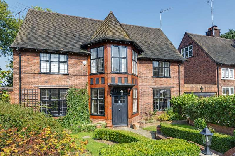 6 Bedrooms Detached House for sale in Turners Wood, Hampstead Garden Suburb