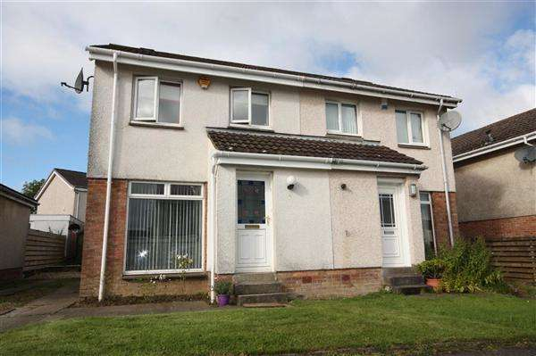 3 Bedrooms Semi-detached Villa House for sale in Allan Place, Gardenhall, East Kilbride