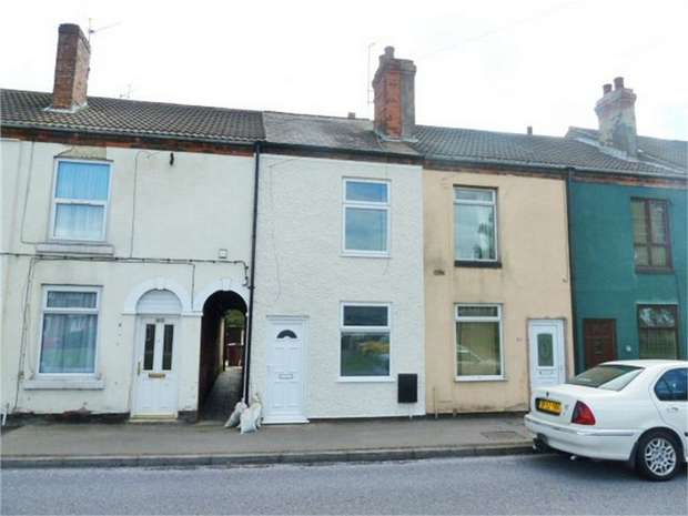 2 Bedrooms Terraced House for sale in Langwith Road, Bolsover, Chesterfield, Derbyshire