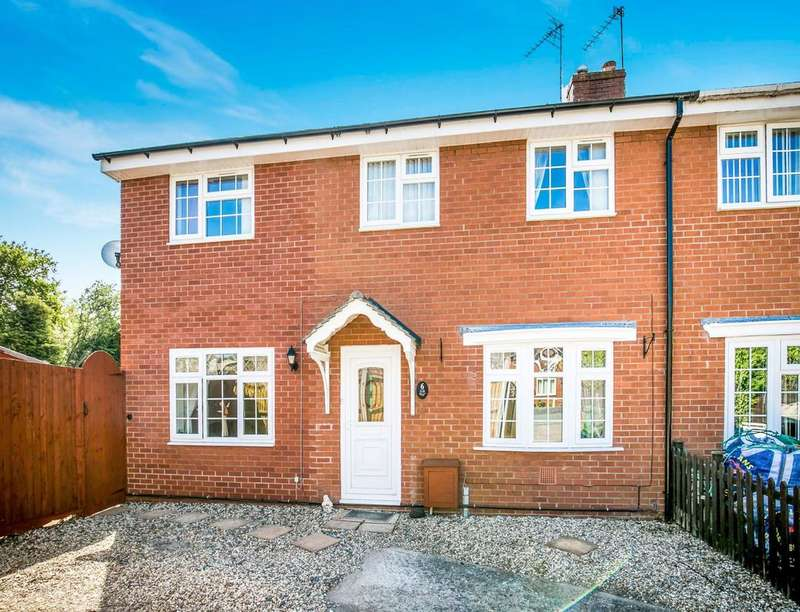 4 Bedrooms Semi Detached House for sale in Cherry Tree Drive, St. Martins, Oswestry, SY11