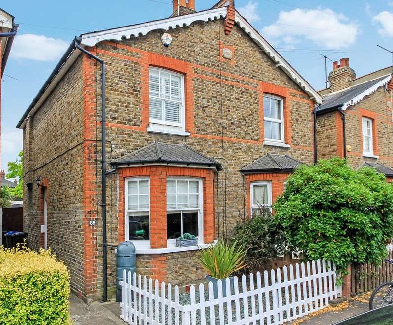 2 Bedrooms Semi Detached House for sale in Beaconsfield Road, Surbiton