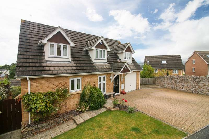 4 Bedrooms Detached House for sale in Sandford View, Newton Abbot