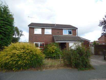 4 Bedrooms Detached House for sale in Offa Chirk, Wrexham, Wrecsam, LL14