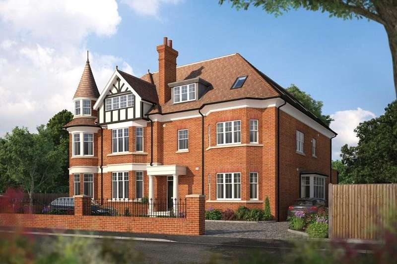 2 Bedrooms Flat for sale in Bridge Road, Hampton Court, Surrey, KT8