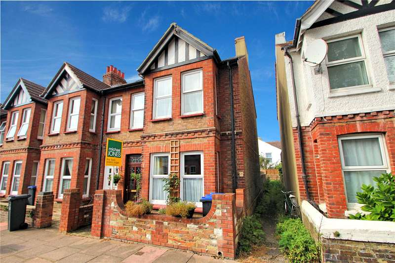 3 Bedrooms End Of Terrace House for sale in St Anselms Road, Worthing, West Sussex, BN14