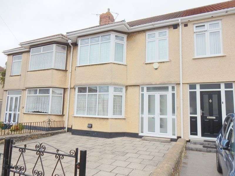 3 Bedrooms Terraced House for sale in Stoneleigh Walk, Knowle, Bristol
